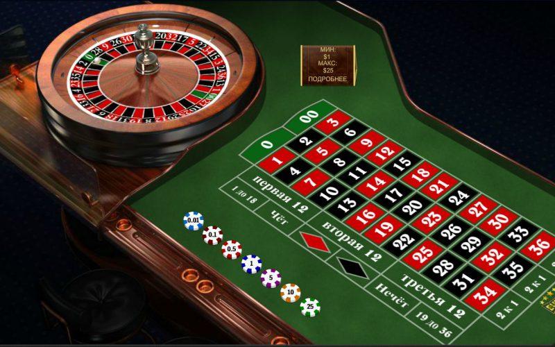рулетка игра казино