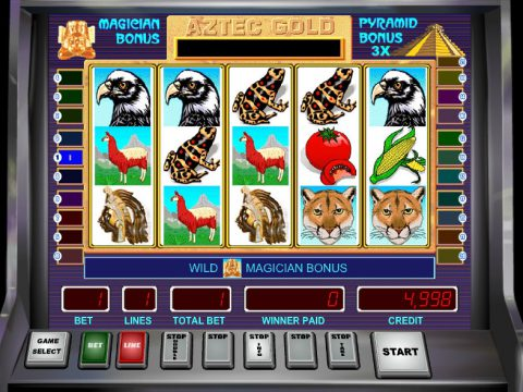 Игровой автомат Aztec Gold - путешествуй по Мексике играя