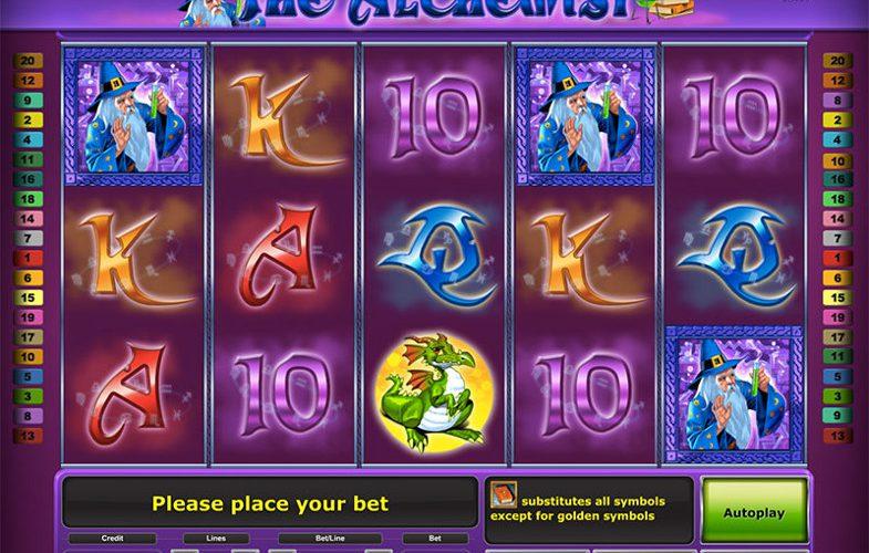 Игровой автомат The Alchemist - превращай удачу в золото