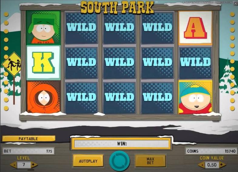 Повеселись в казино Вулкан вместе с онлайн слотом South Park