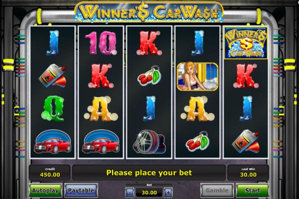 Игровой автомат Winner's Car Wash - играть на сайте Вулкан 24 казино бесплатно или на деньги