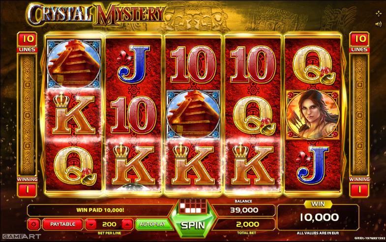 Играй в автомат Crystal Mystery со смартфона, скачать Джойказино для iOS и Android