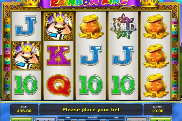 Игровой автомат Rainbow King - в онлайн казино Вулкан 24 за незабываемыми выигрышами