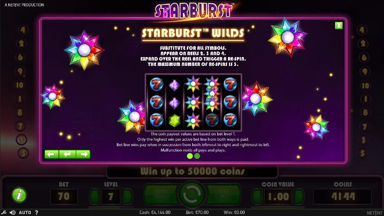 Игровой автомат Starburst - проведи время удачно на официальный сайт Россия Вулкан