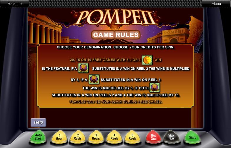 В игровой клуб Вулкан 24 у гостей есть хорошие шансы выиграть в слоте Pompeii