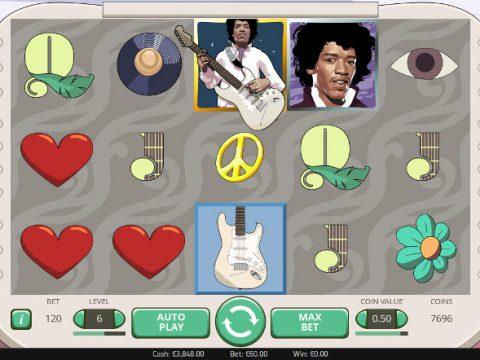 Игровой автомат Jimi Hendrix - онлайн играть на деньги в казино Вулкан Старс