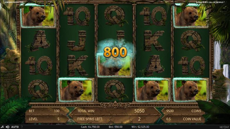 Игровой автомат Jungle Spirit - играй на официальном сайте казино Вулкан Престиж