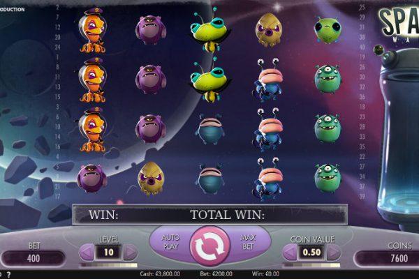 Игровой автомат Space Wars - казино Вулкан Платинум вход на сайт и выигрывай
