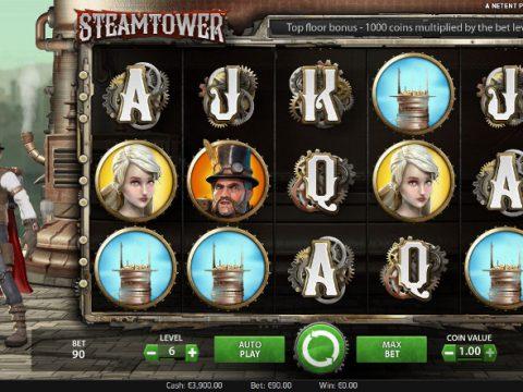 Игровой автомат Steam Tower - испытай свою фортуну на зеркало казино Вулкан Россия
