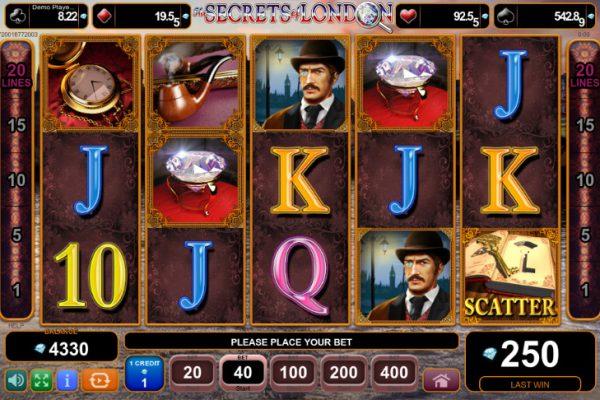 Игровой автомат The Secrets of London - на зеркало казино Вулкан онлайн испытай удачу