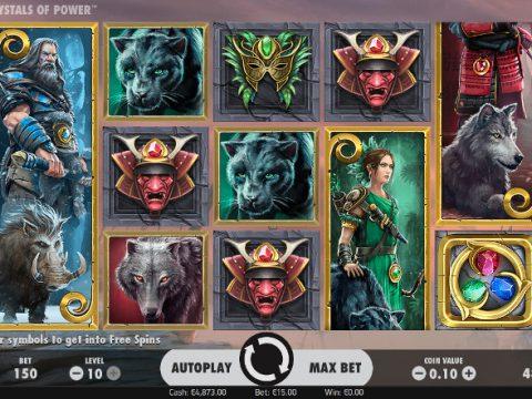 Игровой автомат Warlords: Crystals of Power - высокий процент отдачи в Вулкан Победа казино