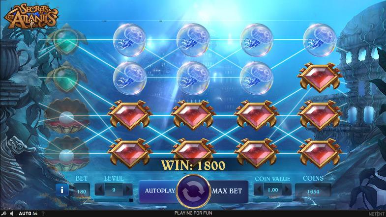 Игровой слот Secrets of Atlantis - играй и побеждай в онлайн автоматы на деньги