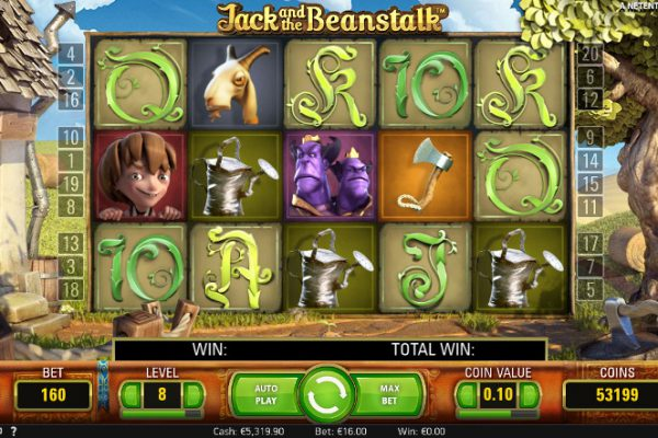 Выиграй в автомате Jack and the Beanstalk на Вулкан Вегас - официальный сайт казино