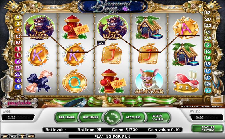 Игровой автомат Diamond Dogs в казино 777 Original - турниры и акции клуба участвуй