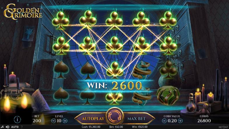Игровой автомат Golden Grimoire - выиграй в казино Вулкан 24 - официальный сайт клуба