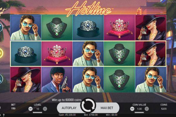 Игровой автомат Hotline - играйте только на официальный сайт онлайн-казино