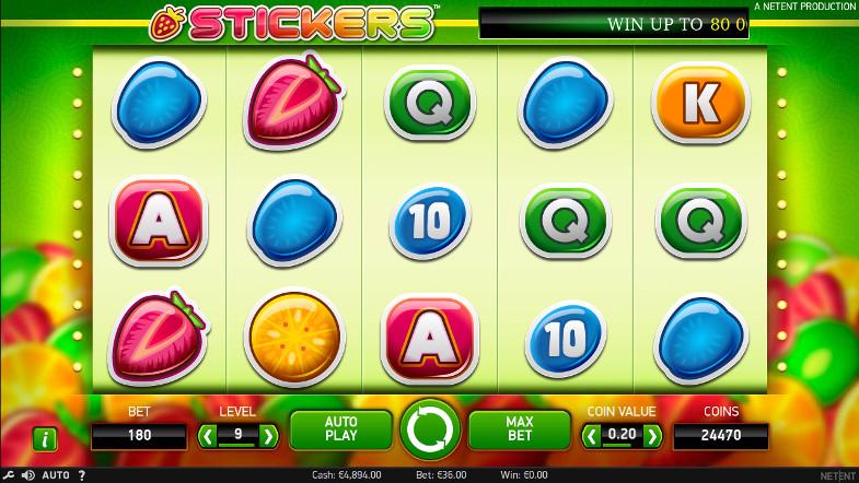 Игровой автомат Stickers - за крупными победами в Вулкан Россия - легальное казино в РФ