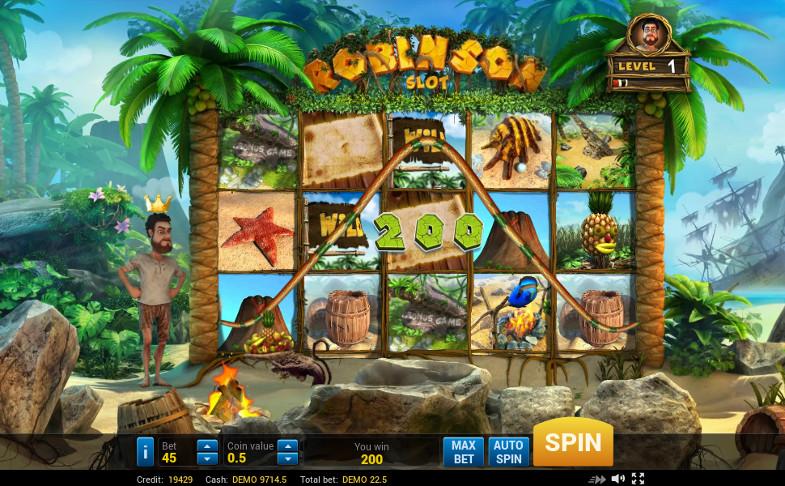 Игровой автомат Robinson - играть в слоты от Evoplay в казино Вулкан онлайн