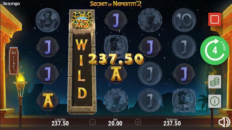 Игровой автомат Secret of Nefertiti 2 - большие выигрыши игрокам в Вулкан 777 казино