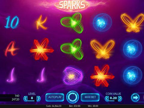 Игровой автомат Sparks - играй на сайте Вулкан Старс казино и побеждай по крупному