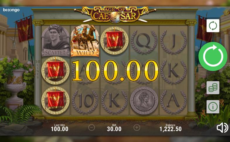Настоящий азарт в слоте Age of Caesar на Вулкан Ставка казино онлайн зеркало