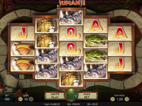 Игровой автомат Jumanji - играй в онлайн казино Корона и выиграй регулярно