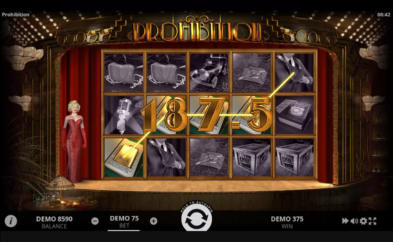 Игровой автомат Prohibition - на официальный сайт Вулкан казино играй с выгодой