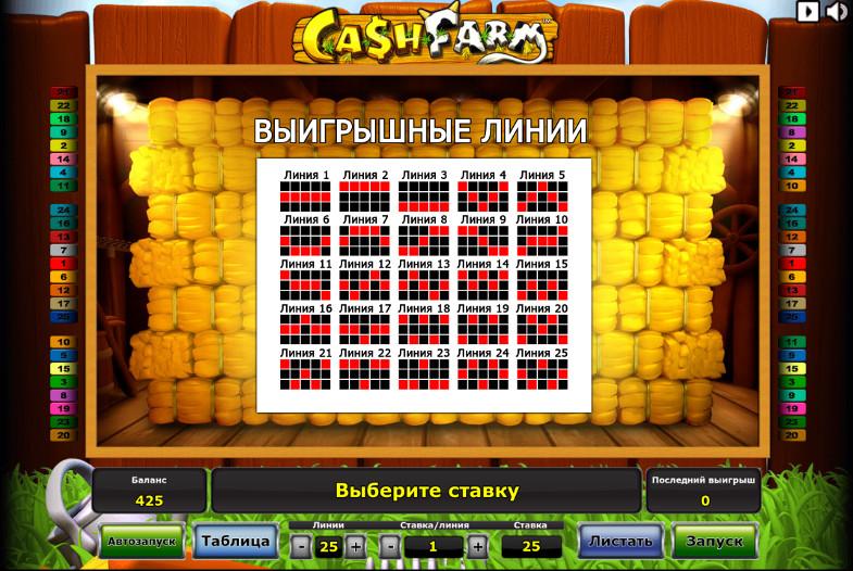 Игровой автомат Cash Farm - в TTR Casino за регулярными выигрышами