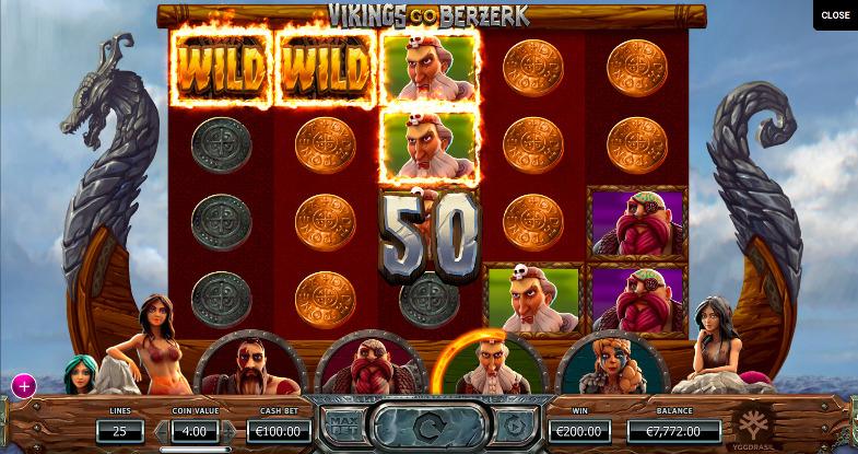 Игровой автомат Vikings Go Berzerk - играть в казино Джойказино онлайн